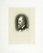 view Portrait of William Baker digital asset: Print by Stephen James Ferris - Portrait of William Spohn Baker