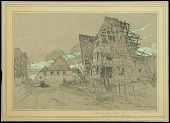 view Front Held by the 88th Division digital asset: Sketch by Walter Jack Duncan, Front Held by the 88th Division