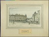 view Square at Pont-a-Mousson digital asset: Sketch by J. Andre Smith, Square at Pont-a-Mousson