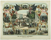 view The Fifteenth Amendment Celebrated May 19th, 1870 digital asset number 1