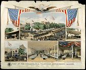 view View of the Philadelphia Volunteer Refreshment Saloons digital asset number 1