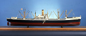 view Ship Model, Victory Ship Type VC2-S-AP digital asset: Rigged model, Victory cargo vessel, type VC2-S-AP