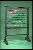 view Teaching Abacus, or Numeral Frame digital asset: Numeral Frame, Front View