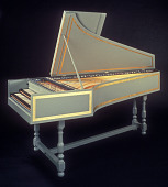 view Dowd Double Manual Harpsichord digital asset number 1