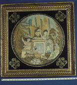 view Caroline Winn Memorial Mourning Picture; Susan Winn; ca. 1816 digital asset number 1