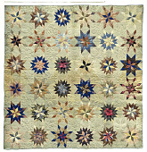 view 1825 - 1850 Mary Hise Norton's Silk Quilt digital asset number 1