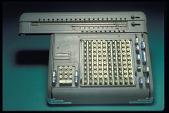 view Friden Model ST 10 Calculating Machine digital asset: Friden Model ST10 Calculating Machine, Front View