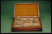 view Set of Drawing Instruments digital asset: Set of Drawing Instruments, possibly Czech