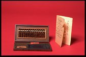 view Soroban, or Japanese Abacus digital asset: Japanese Abacus with Ink Box