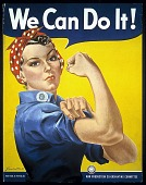 """view """"We Can Do It!"""" digital asset: Poster, We Can Do It!"""