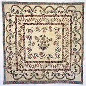 view 1830 - 1850 Appliqued Quilt digital asset number 1