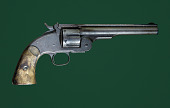 view Smith & Wesson Schofield Revolver digital asset: Smith & Wesson Schoenfield Revolver