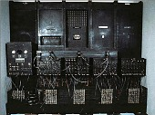 view ENIAC Accumulator #2 digital asset: ENIAC components on exhibit in Information Age