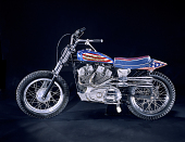view Evel Knievel's Harley-Davidson XR-750 digital asset: Evel Knievel's motorcycle