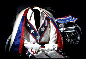 view Evel Knievel's Jumpsuit digital asset: Evel Knievel jumpsuit and capesuit