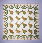 "view 1840 - 1860 ""Pineapple"" Quilt digital asset: Pineapple Quilt"