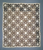 view 1850 - 1875 Mary La Follette's Pieced Quilt Top digital asset number 1