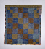 view 1850-1899 Pieced Wool Quilt digital asset number 1