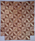 view 1850 - 1875 Pieced Quilt digital asset number 1