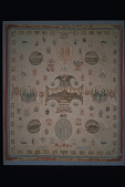 "view 1876 Mary W. Stow's ""Centennial"" Quilt digital asset number 1"