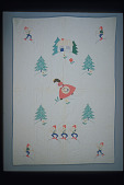 "view 1975 - 1995 ""Snow White and the Seven Dwarves"" Child's Quilt digital asset number 1"