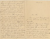 view [To her husband Leo Baekeland : manuscript letter.] digital asset: [To her husband Leo Baekeland : manuscript letter.]