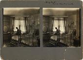 view [Celine Baekeland in bedroom] digital asset: [Celine Baekeland in bedroom].