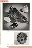 view [Electric vibrator and fishing reel, catalog page] digital asset: [Electric vibrator and fishing reel, catalog page].
