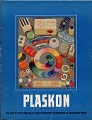 view Plaskon: Plastic Materials for Modern Industrial Production [catalog cover] digital asset: Plaskon: Plastic Materials for Modern Industrial Production [catalog cover].