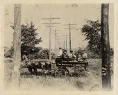 view The Niagara Falls Power Company field wagon digital asset: The Niagara Falls Power Company field wagon.