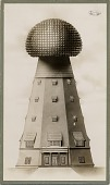 view [Illustration of Tesla's tower, Long Island laboratory, New York] digital asset: [Illustration of Tesla's tower, Long Island laboratory, New York]