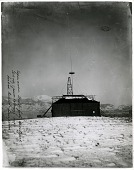 view [Nikola Tesla's Colorado Springs Laboratory : black-and-white photoprint.] digital asset: [Nikola Tesla's Colorado Springs Laboratory : black-and-white photoprint.]