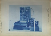 view Slaby Arco receiver, interior / U S Navy [sic] / 1903 [cyanotype] digital asset: Slaby Arco receiver, interior / U S Navy [sic] / 1903 [cyanotype].