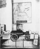 view [De Forest Exhibit at the St Louis Exposition, black-and-white photoprint.] digital asset: [De Forest Exhibit at the St Louis Exposition, black-and-white photoprint.]