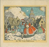 view An old time Christmas: [greeting card] digital asset: An old time Christmas: [greeting card]