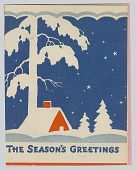 view The Season's Greetings: [greeting card] digital asset: The Season's Greetings: [greeting card]