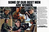 view Some of Our Best Men Are Women. Join the People Who've Joined the Army [color advertisement] digital asset: Some of Our Best Men Are Women. Join the People Who've Joined the Army [color advertisement].