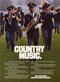 view Country Music, [color advertisement; tear sheet] digital asset: Country Music, [color advertisement; tear sheet].