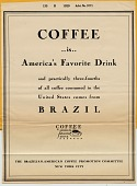 view Coffee is America's Favorite Drink. [black & white advertisement; tear sheet] digital asset: Coffee is America's Favorite Drink. [black & white advertisement; tear sheet].