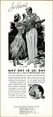 view May Day is Lei Day ..., [black & white advertisement; tear sheet] digital asset: May Day is Lei Day ..., [black & white advertisement; tear sheet].