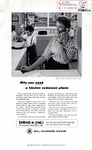 view Why you need a kitchen extension phone, [black & white advertisement; tear sheet] digital asset: Why you need a kitchen extension phone, [black & white advertisement; tear sheet].