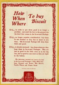 view How, When, Where to buy Biscuit [color advertisement; tear sheet] digital asset: How, When, Where to buy Biscuit [color advertisement; tear sheet].
