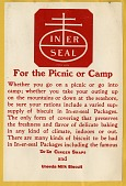 view For the Picnic or Camp [color advertisement; tear sheet] digital asset: For the Picnic or Camp [color advertisement; tear sheet].
