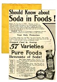 view Should Know about Soda in Foods! [black & white advertisement; tear sheet] digital asset: Should Know about Soda in Foods! [black & white advertisement; tear sheet].