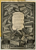 view Buy Biscuit baked by National Biscuit Company. [black & white advertisement; tear sheet] digital asset: Buy Biscuit baked by National Biscuit Company. [black & white advertisement; tear sheet].