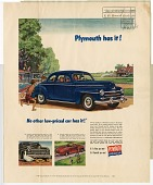 view Plymouth has it! [color advertisement; tear sheet] digital asset: Plymouth has it! [color advertisement; tear sheet].