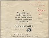 view Chalfonte-Haddon Hall, hotels digital asset: Chalfonte-Haddon Hall, hotels