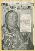 view [Advertisment depicting a North American Indian smoking Prince Albert tobacco : proof.] digital asset: [Advertisment depicting a North American Indian smoking Prince Albert tobacco : proof.] 1913.