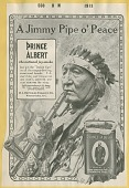 view Jimmy Pipe O'Peace [advertisement proof,] digital asset: Jimmy Pipe O'Peace [advertisement proof,] 1913.