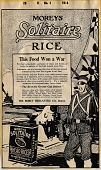 view Moreys [sic] Solitaire Rice [advertisement : proof] digital asset: Moreys [sic] Solitaire Rice [advertisement : proof], 1914.